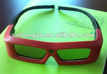 active shutter 3d glasses 3d xpand glasses for cinema with liquid crystal shutters