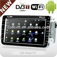 In-dash 2 din car dvd android with WI-FI 3G