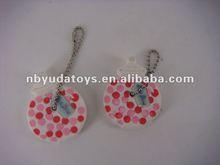 Ningbo Sunrise/ICTI factory/2014 hottest toy/ silicone key chain and phone decoration