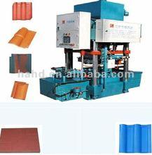 Hot in 2012!QT-12 Multifunction Color Roof Tile& Floor Tile Making Machine/cement tile making machine