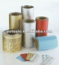Pharmaceutical Aluminium Foil for Packing