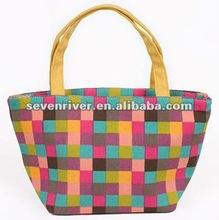 2015 newest high quality canvas women fashion handbag