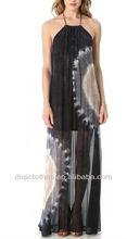 Novo modelo casual vestidos de crepe, As mulheres se vestem, Mulheres vestuário