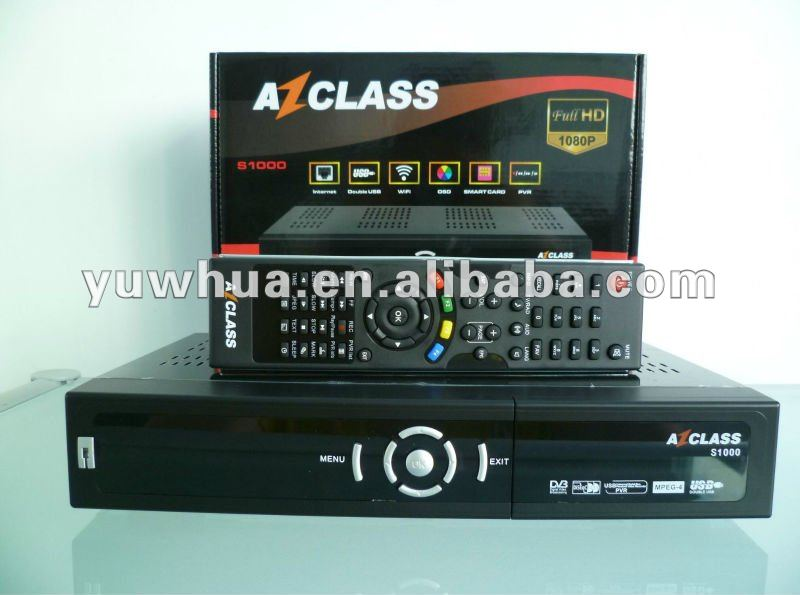 ( Azbox ) AZCLASS S1000 decodificador para américa del sur