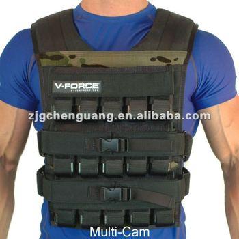 Adjustable neoprene Weight Vest/Adjustable Oxford Weight vest