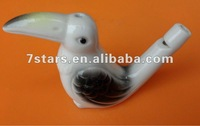 Ceramic 2014 hot hand-painted whistle birds for sale