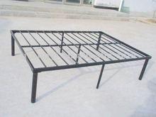 Promo metal full platform bed