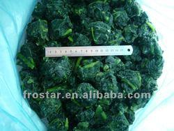 Wholesale frozen vegetable spinach