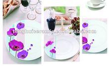 porcelain round plate nice design