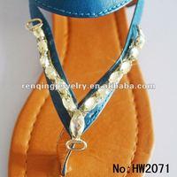 Ladies retro ladies sandals flip flop charms 2012
