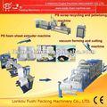 Ps( poliestireno) espuma lancheira/bandeja que faz a máquina