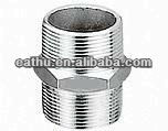 hex nipple, close nipple, tube fitting, forged fitting