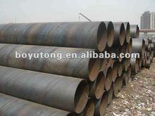 Tianjin Boai ASTM A252, Gr 3(Q345B) Spiral steel pipe
