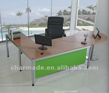 2012 new modern luxury design QQ idea executive office desk office furniture