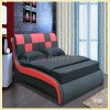 2015 modern American style bed D2859#