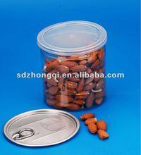 2012 hot sale! 680ml plastic jar can