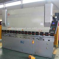 press brake, plate bending machine WC67Y-125T3200 with E10 digital display,door frame bending machine