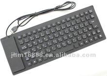 85 tasti della tastiera flessibile del silicone di google arabo