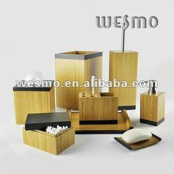 Stylish Bamboo Bath Set