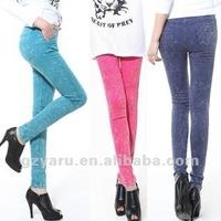 sexy hot loose cotton linen khaki cargo pants women sexy winter wool jeans white