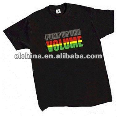 El flashing t - shirt