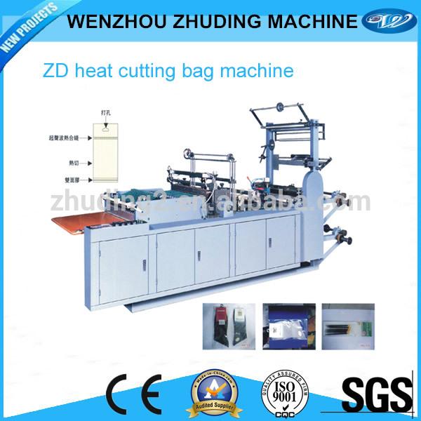 La computadora multifunción- control de bolsa caliente de corte de la máquina