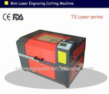 Mini desktop 60w CO2 laser engraver TS3040