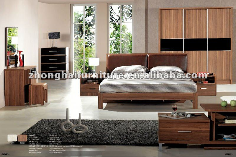 wood double bed designs furniture bedroom sets, View indian wood ...