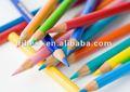 """7"""" venda quente 12 lápis de cor com o logotipo definido e afiada"""