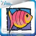 parche de pescado diseños de bordado