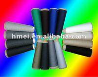 viscose stable fiber ring spun yarn raw white