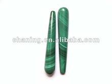 High quality A grade natural malachite teardrop beads