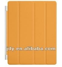 Orange leather smart cover for ipad