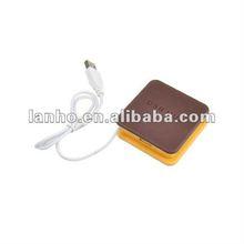 Mini High Speed 4-Port USB HUB For Laptop PC Webcam Computer Notebook