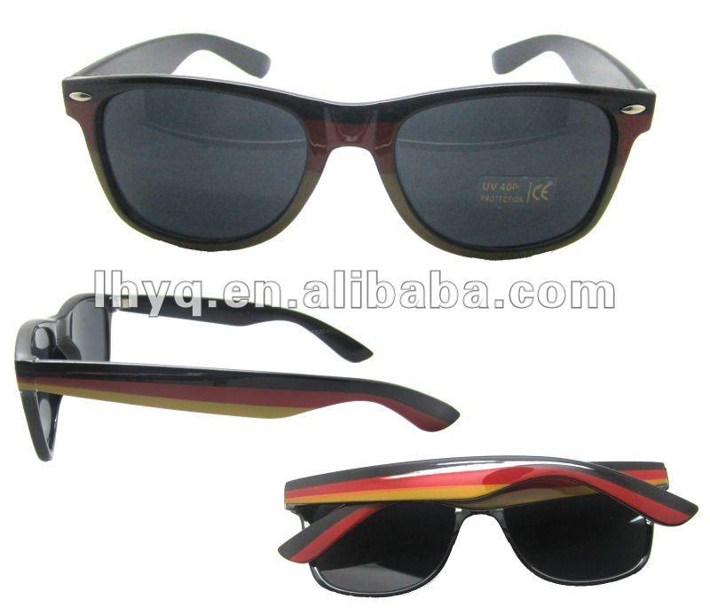 lunettes de soleil de drapeau de l'Allemagne