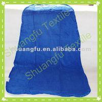 100% Cotton blue cut velour printed superman boy cloak