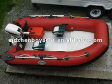 300 RIB fishing motor inflatable boat