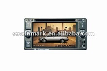 2 Din 6.2 inch touch screen car DVD GPS player with Bluetooth, Radio, SWC,support rear-view camera etc for Toyota COROLLA