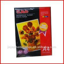 JOJO Hot Sale 200g High Glossy Inkjet Photo Paper