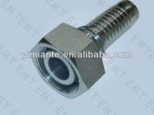 hydraulic metric o-ring seat hose fittings