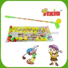 Dextrose golf ball candy toy
