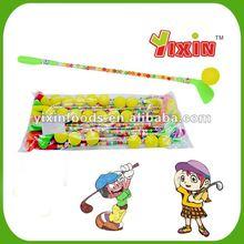 Dextrose golf ball candy toy