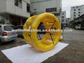 Crazy flutuante inflável roda d'água/roda de água venda