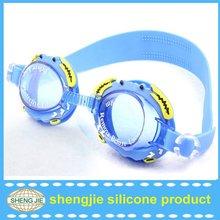 Professional Anti-fog silicone swimming glass / swim googles