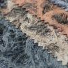 glitter leather fabric guangzhou, handbag making material