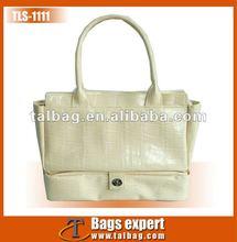 croco PU Ladies handbag