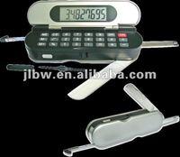 7-in-1 Multifunction Tool Set Tape Measure Calculator/Led Light/Screwdriver/Knife