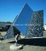 solar mirror panel, 3.2/4 mm Solar mirror panels / Energy mirror / Reflective mirror