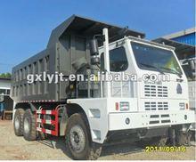 SINOTRUCK HOWO off-road mining 6*4 dump truck ZZ5707S3840AJ