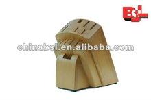 Several Slots Bamboo Tool Holder